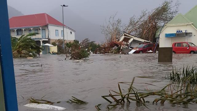 Zeker vier doden door verwoestende orkaan Irma op Bovenwindse Eilanden