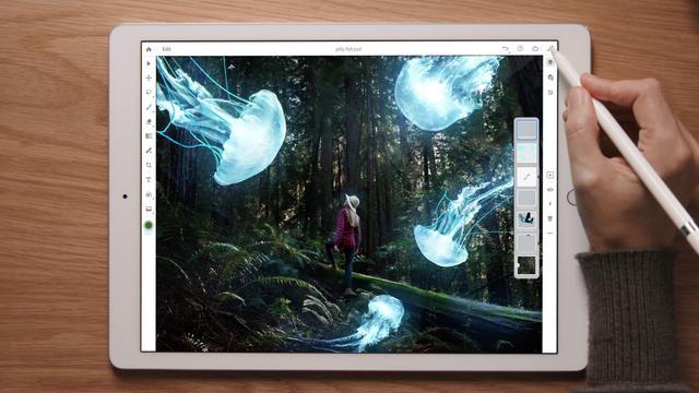 iPad krijgt in 2019 volledige versie Photoshop