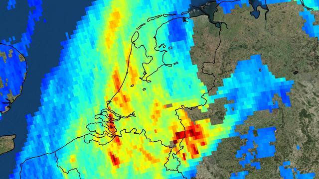 Eerste beelden van Nederlands ruimte-instrument tonen luchtvervuiling