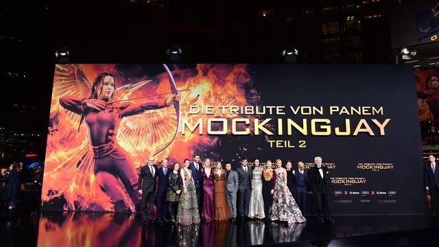 Geen interviews tijdens première The Hunger Games