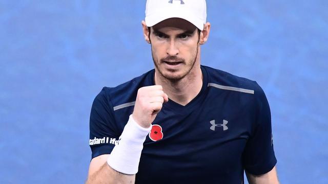 Murray neemt eerste plaats op wereldranglijst over van Djokovic