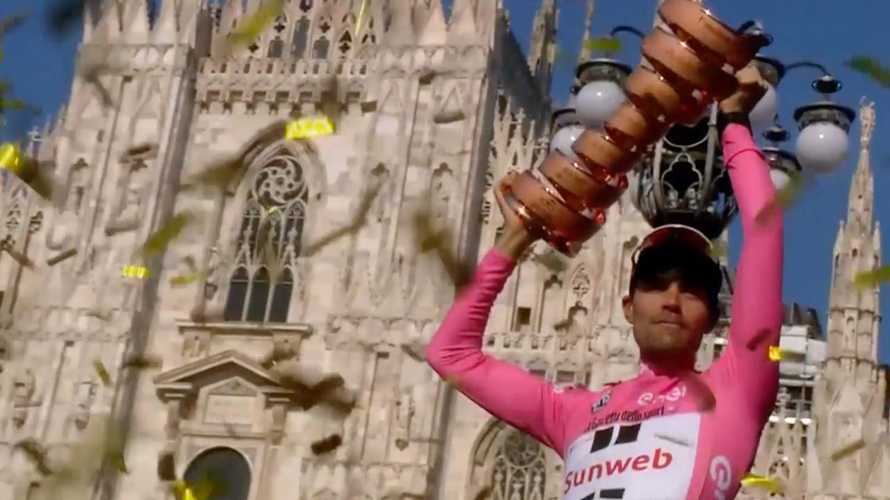 Zo schreef Dumoulin historie in honderdste editie Giro