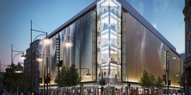 Britse winkelketen Debenhams sluit definitief de deuren en gaat online verder