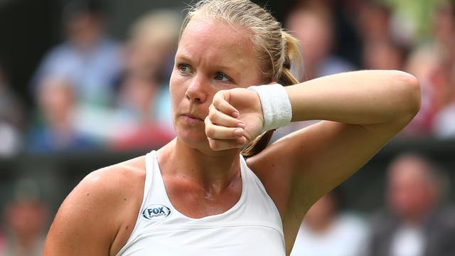 Bertens onderuit tegen Halep in derde ronde Wimbledon