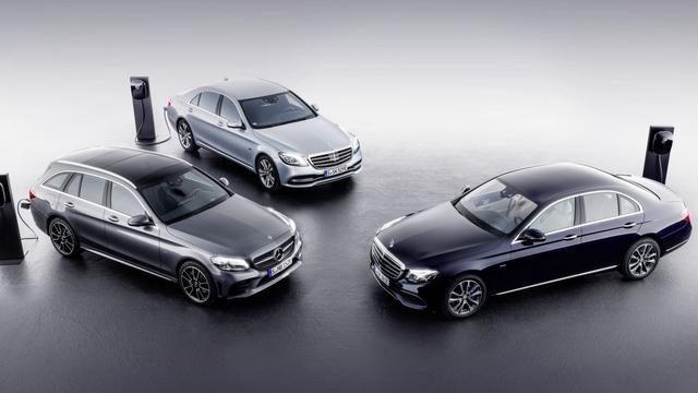 Mercedes-Benz komt met dieselhybride-modellen