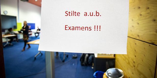Minder klachten over de examens dan vorig jaar