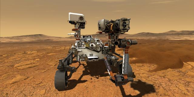 NASA-voertuig geland op Mars: negende Amerikaanse object op rode planeet