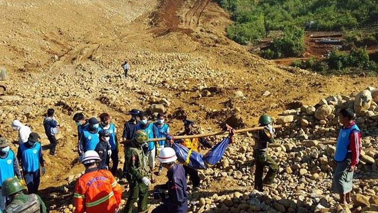Overlevende aardverschuiving China gevonden