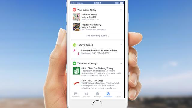 Facebook test nieuwe feeds in mobiele app