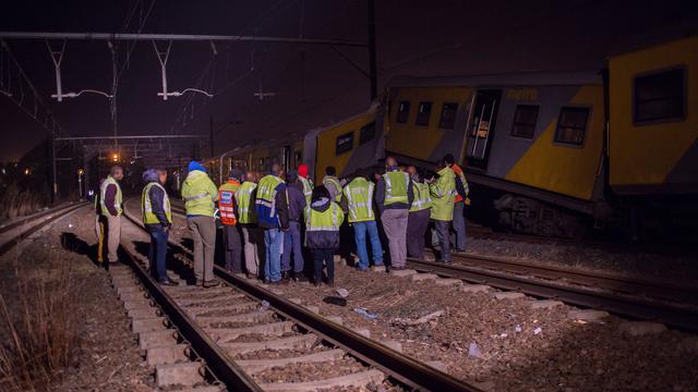 'Ruim driehonderd gewonden bij treinbotsing in Zuid-Afrika'