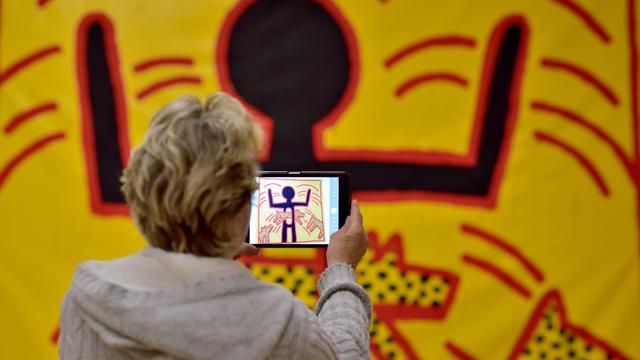 Werk Keith Haring terug in Stedelijk Museum Amsterdam