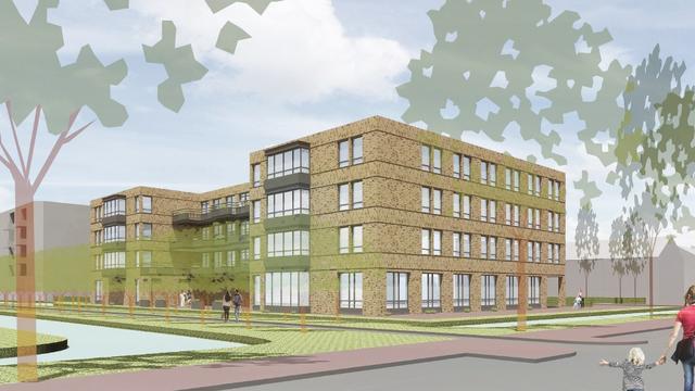 Nieuw zorgcentrum heet Topaz Lakenhof