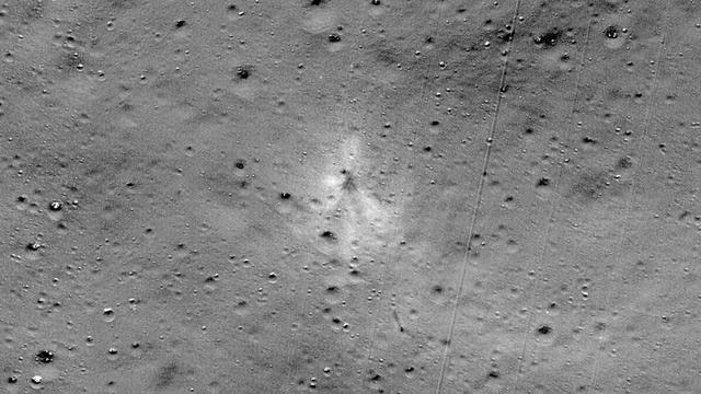 NASA vindt neergestorte Indiase maanlander dankzij hobbyist