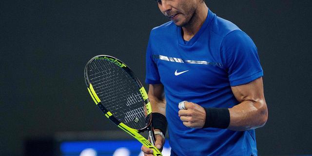 Nadal revancheert zich tegen Dimitrov en treft Kyrgios in finale Peking