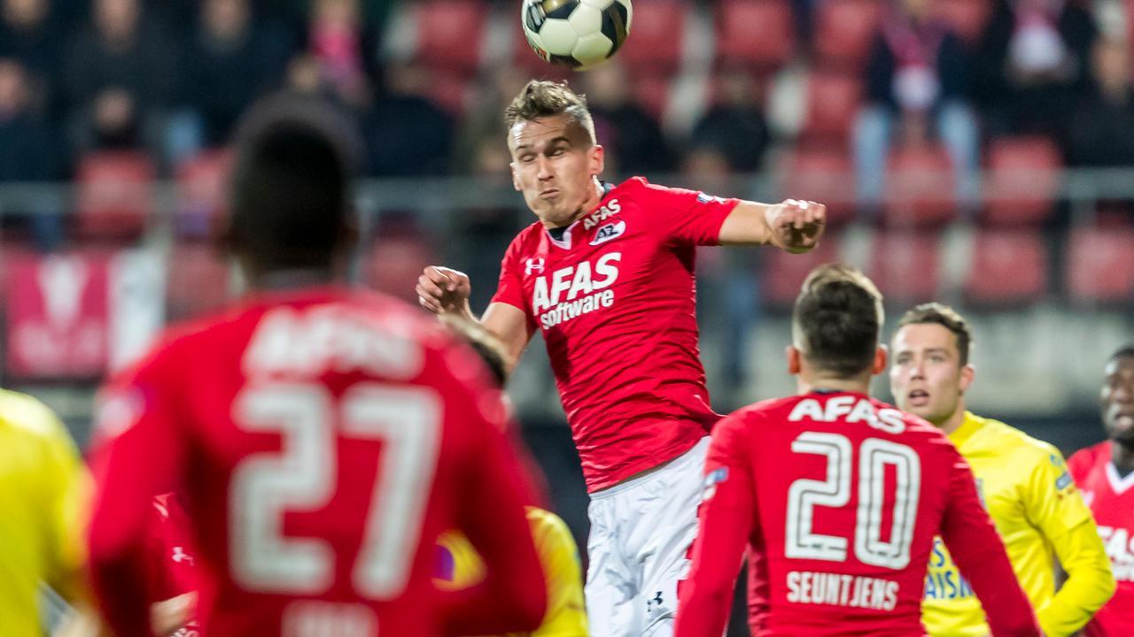 Goal AZ in laatste minuut afgekeurd na ingrijpen videoscheidsrechter
