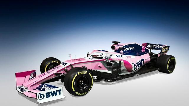 Racing Point houdt vast aan roze auto en presenteert nieuwe sponsor