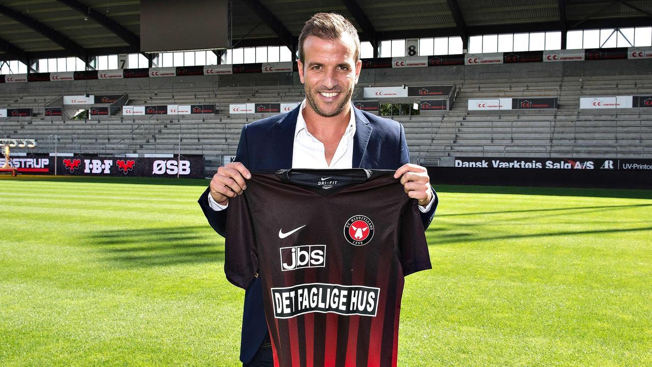 Rafael van der Vaart is hype op Deense platteland