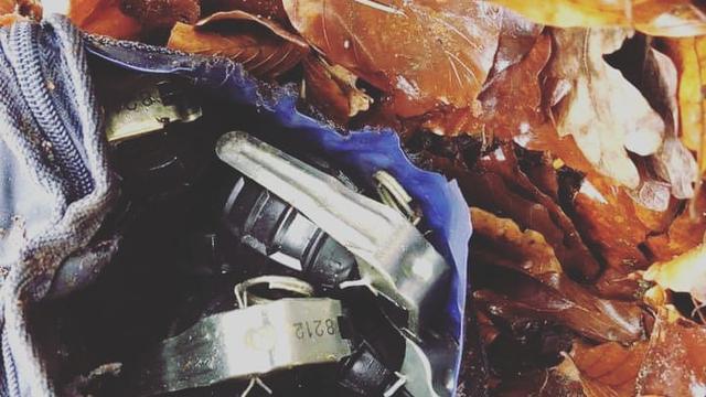 Wandelaar vindt tas met handgranaten in bos bij Ede