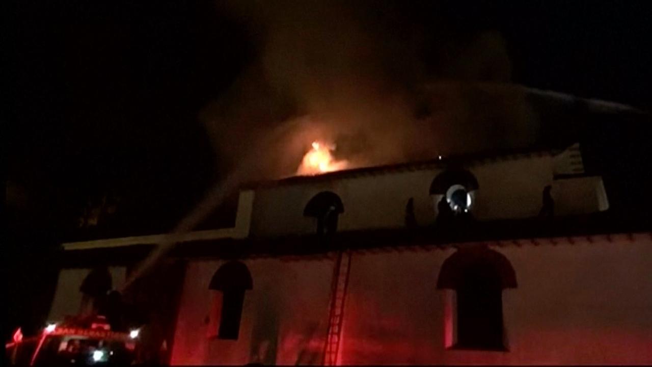 Koloniale kerk in Peruaanse stad Cuzco afgebrand