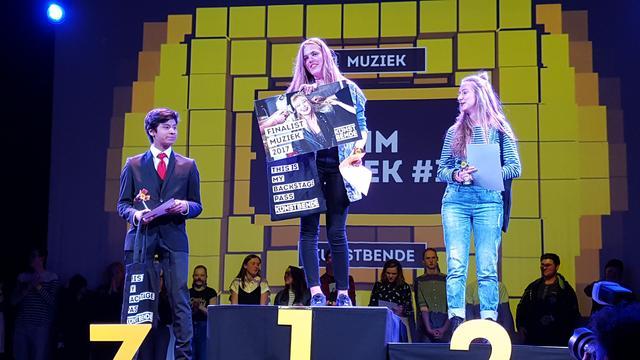 Etten-Leurse pianist derde in Finale Kunstbende