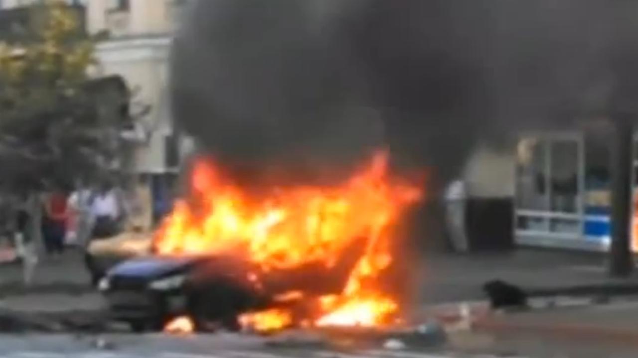 Journalist gedood door autobom in Kiev