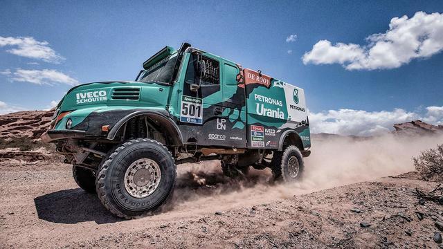 Trucker De Rooy schrijft Dakar Rally op zijn naam