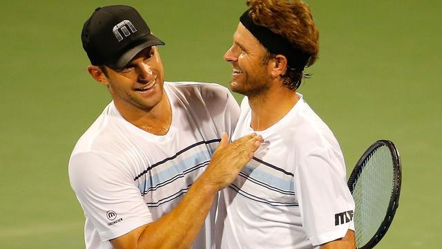 Andy Roddick wint bij eenmalige rentree in Atlanta
