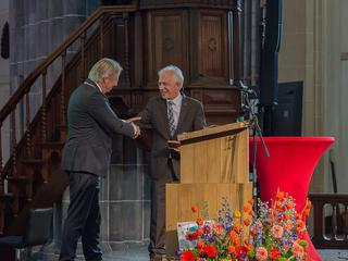 Penning werd uitgereikt in de Martinikerk