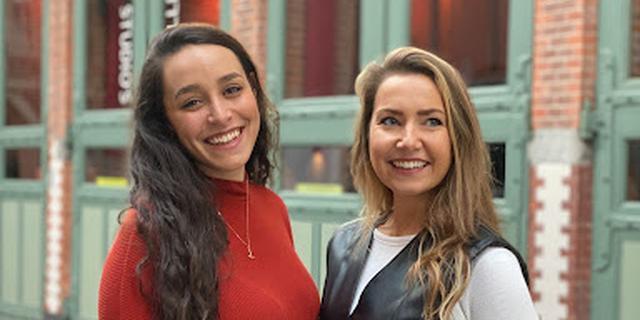 Nina en Sophie helpen lokale boetieks hun waren in heel het land verkopen