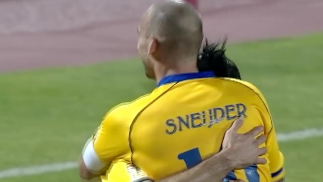 Sneijder met twee goals belangrijk voor Al Gharafa