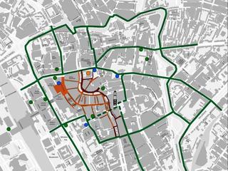 Stallingsmogelijkheid komt omdat het voetgangersgebied wordt uitgebreid