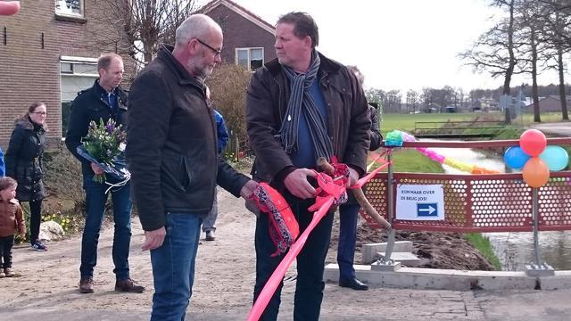 Ludieke opening Nijboersbrug Broekland