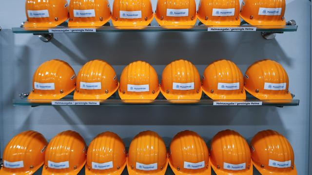 Duitse industriële productie zakt naar het laagste niveau in zeven jaar