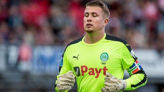 'FC Groningen-doelman Padt opgepakt na misdraging in trein'