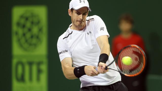 Murray begint 2017 met zege in Doha, Nadal wint in Brisbane