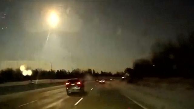 Meteoriet verlicht hemel boven Michigan dinsdagnacht