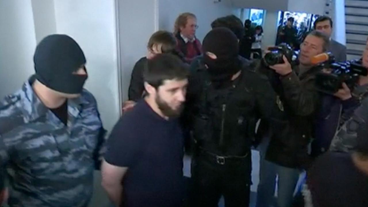 Proces moordverdachten Nemtsov begonnen in Rusland