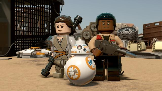 Eerste beelden Lego Star Wars: The Force Awakens getoond