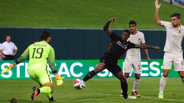 Strootman wint met Roma in oefenduel van Liverpool