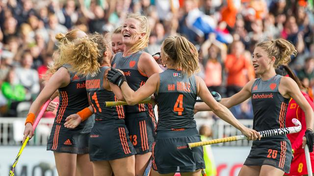 Wisselende resultaten Nederlandse hockeyploegen tegen Spanje