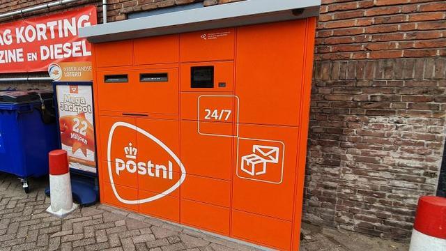 PostNL plaatst pakket- en briefautomaat op Hoge Rijndijk
