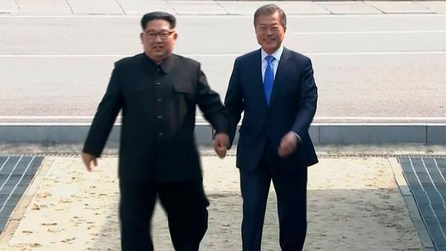 Leiders Noord- en Zuid-Korea praten 'openhartig' over denuclearisatie