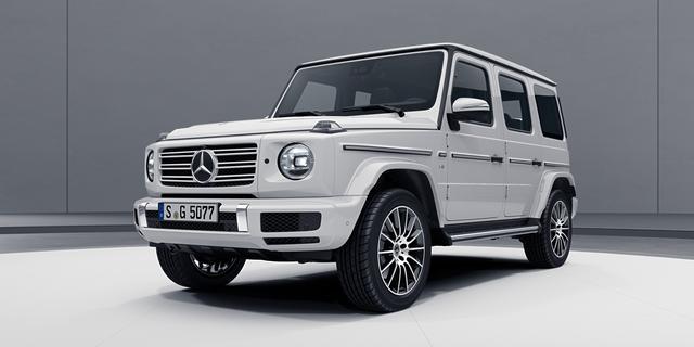 Uiterlijke aanpassingen voor nieuwe Mercedes G-Klasse
