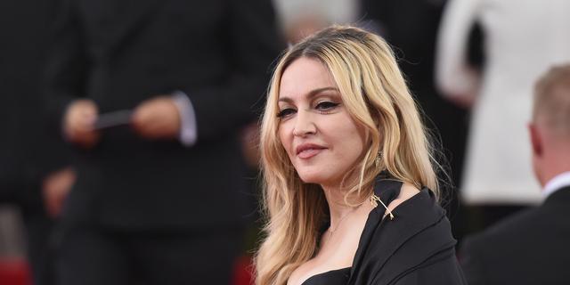 'Madonna in gesprek met zoon Rocco'