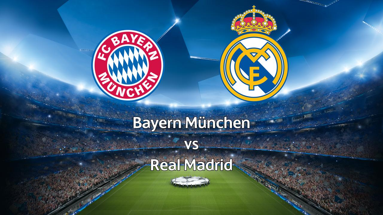 Live Champions League: Bayern München-Real Madrid