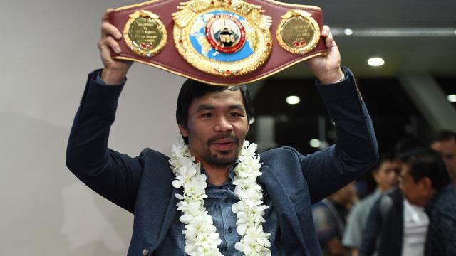 Boksers Pacquiao en Kahn akkoord over nieuw 'supergevecht'