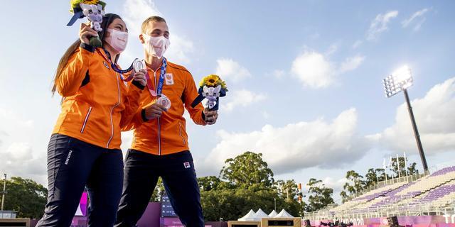 Boogschutters nemen eerste Nederlandse medaille in ontvangst