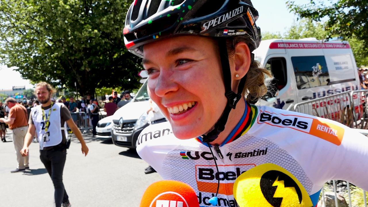 Van der Breggen vindt La Course 'reclame voor de vrouwensport'