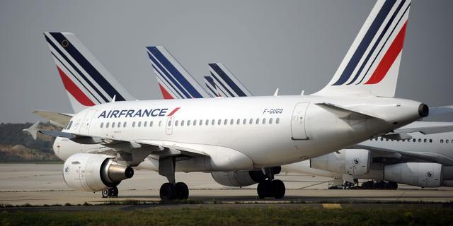 'Piloten Air-France gaan ook volgende week twee keer staken'