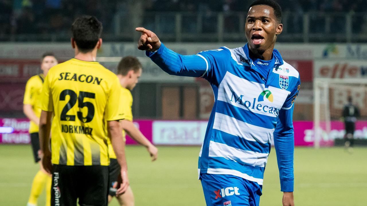 Samenvatting PEC Zwolle-VVV Venlo (2-1)